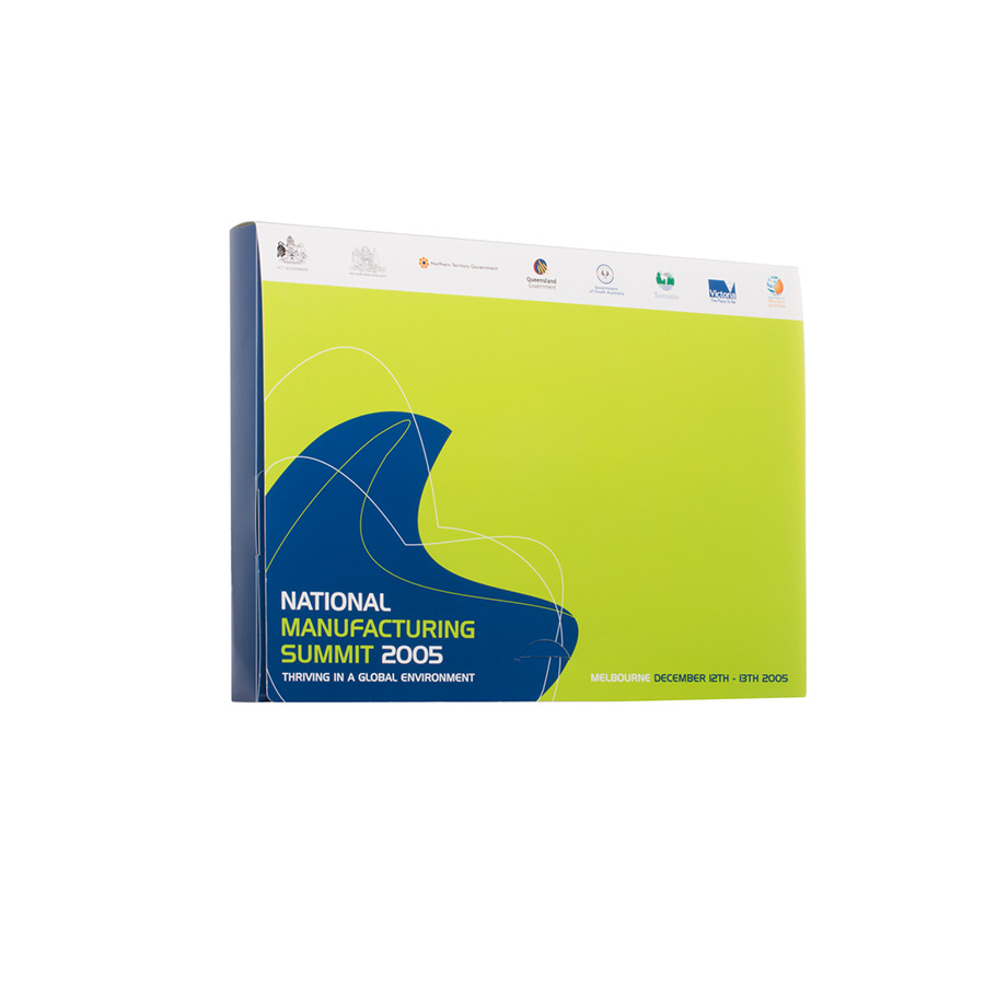 Plastic Product Packaging - Presentation Folder